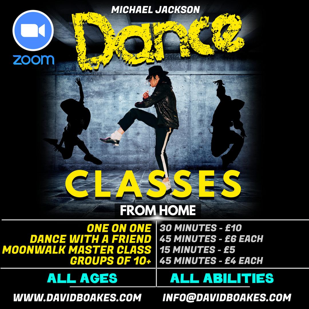 Michael Jackson Dance Classes